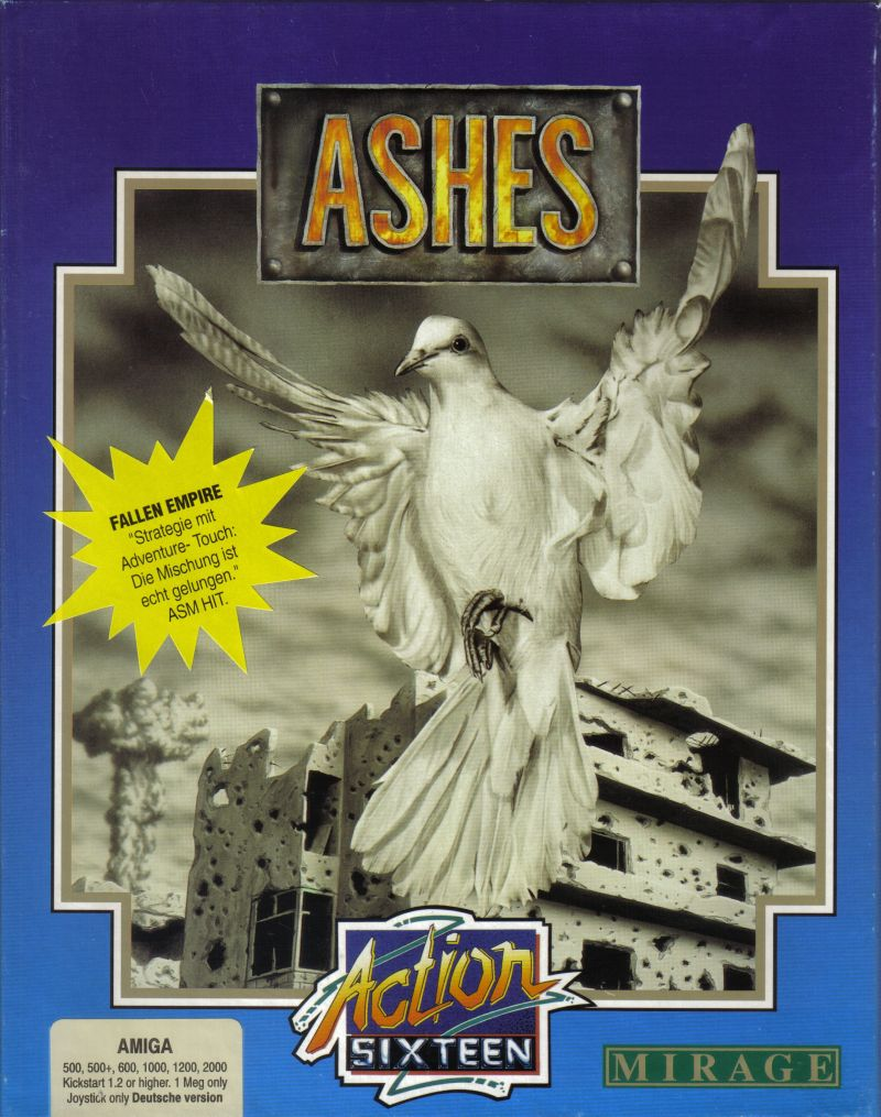 Ashes of Empire Amiga Front Cover
