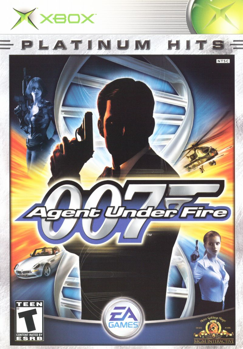 007: Agent Under Fire Xbox Front Cover