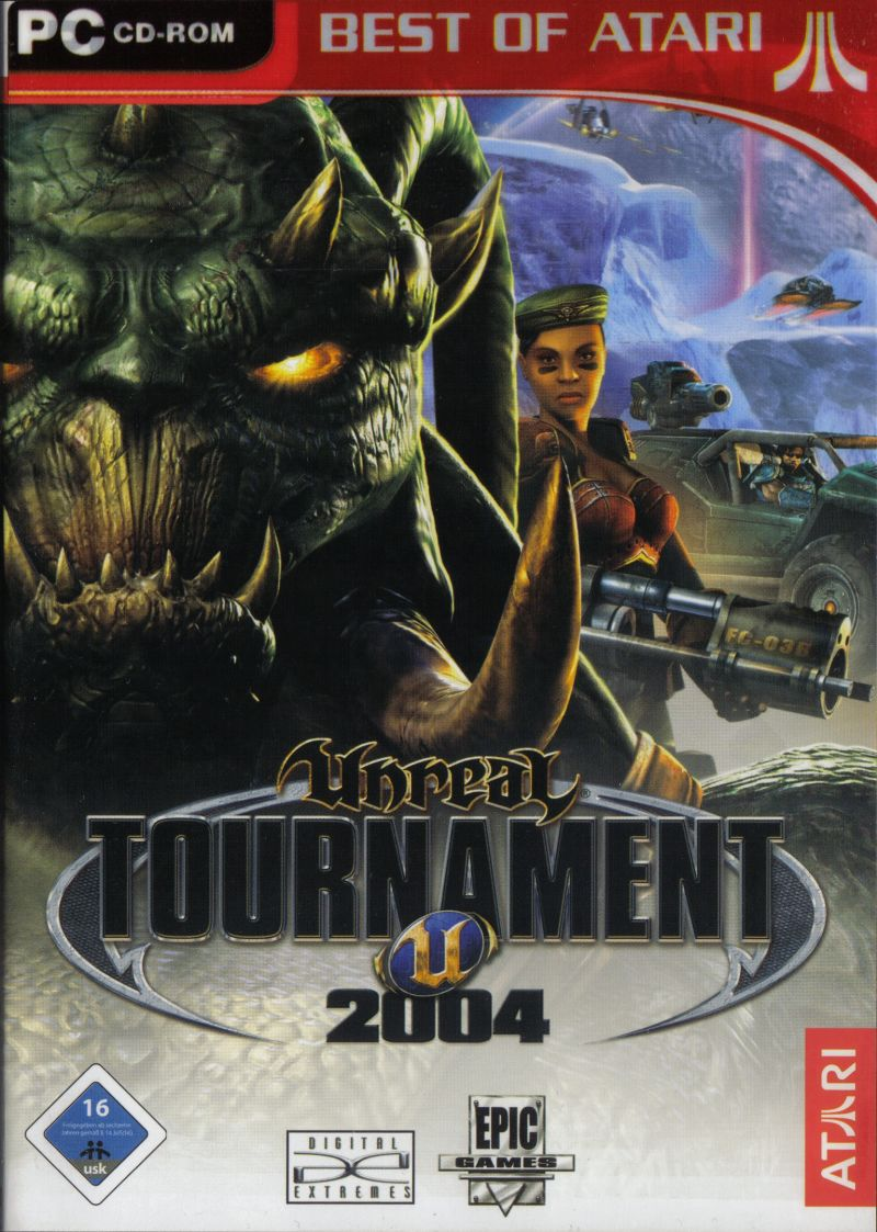 Unreal Tournament 2004 Windows Front Cover