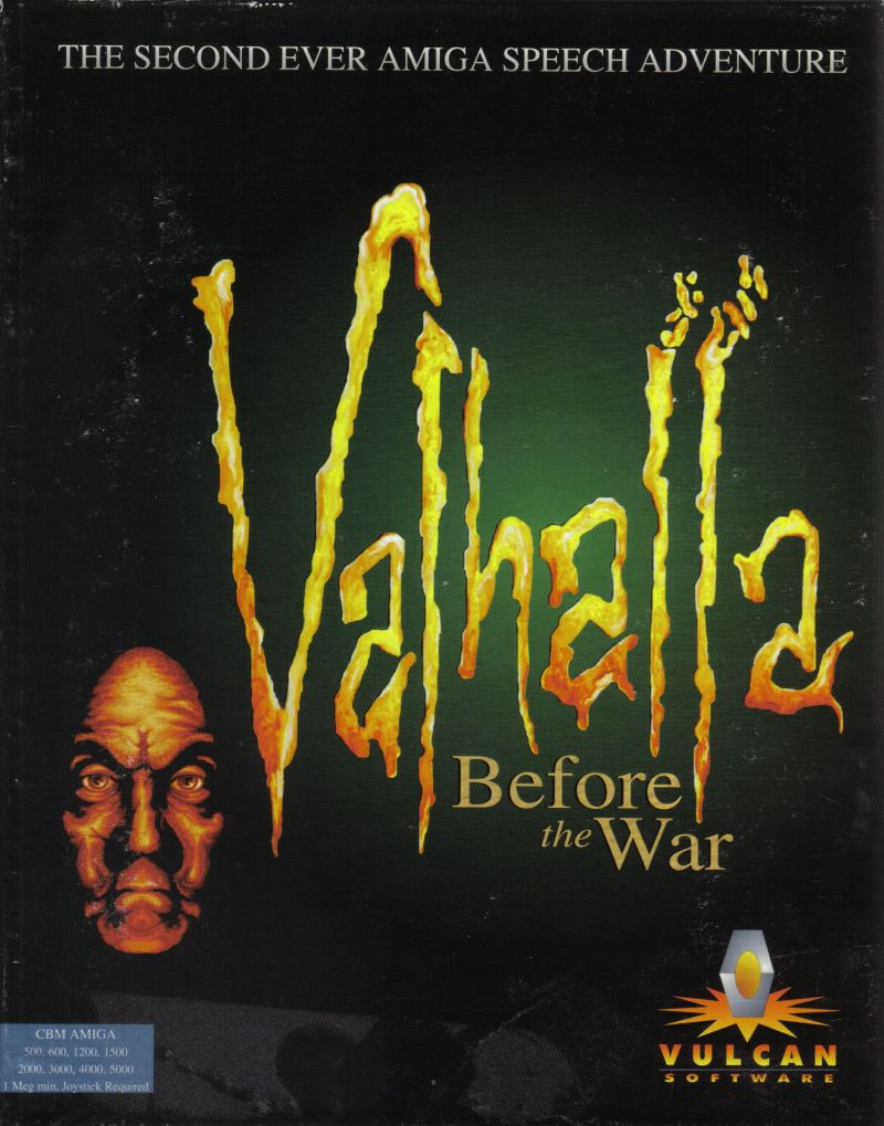 Valhalla and the Lord of Infinity Amiga Front Cover