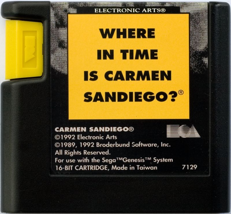 Where in Time is Carmen Sandiego? Genesis Media