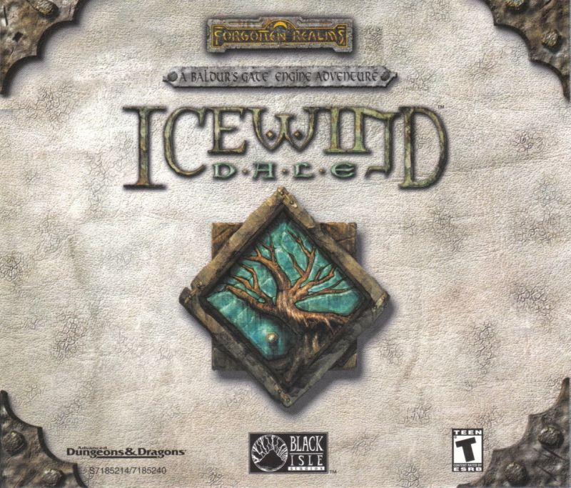 Icewind Dale: The Collection Windows Other Jewel Case - Front