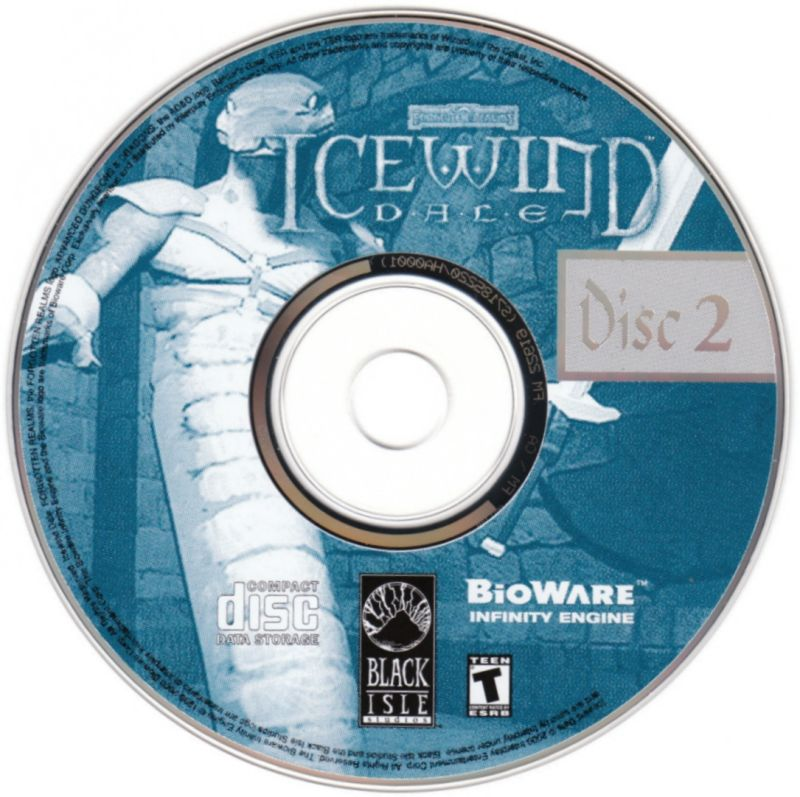 Icewind Dale: The Collection Windows Media Icewind Dale - Disc 2