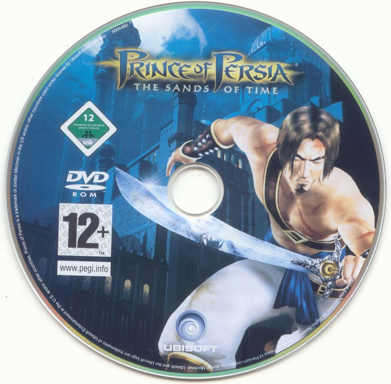 Prince of Persia Trilogy Windows Media Sands of Time Disc