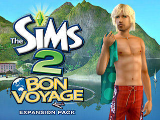 The Sims 2: Bon Voyage Windows Front Cover