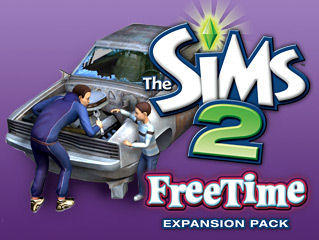 The Sims 2: FreeTime Windows Front Cover
