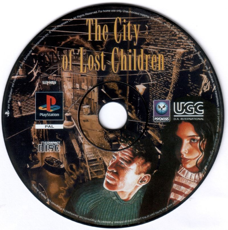 The City of Lost Children PlayStation Media