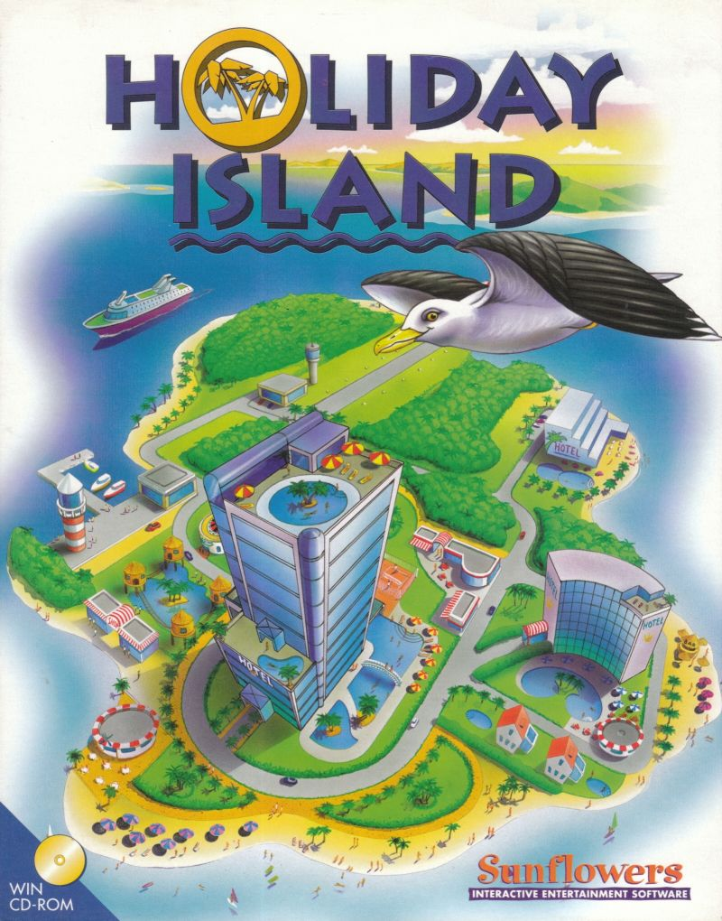 Holiday Island Windows Front Cover