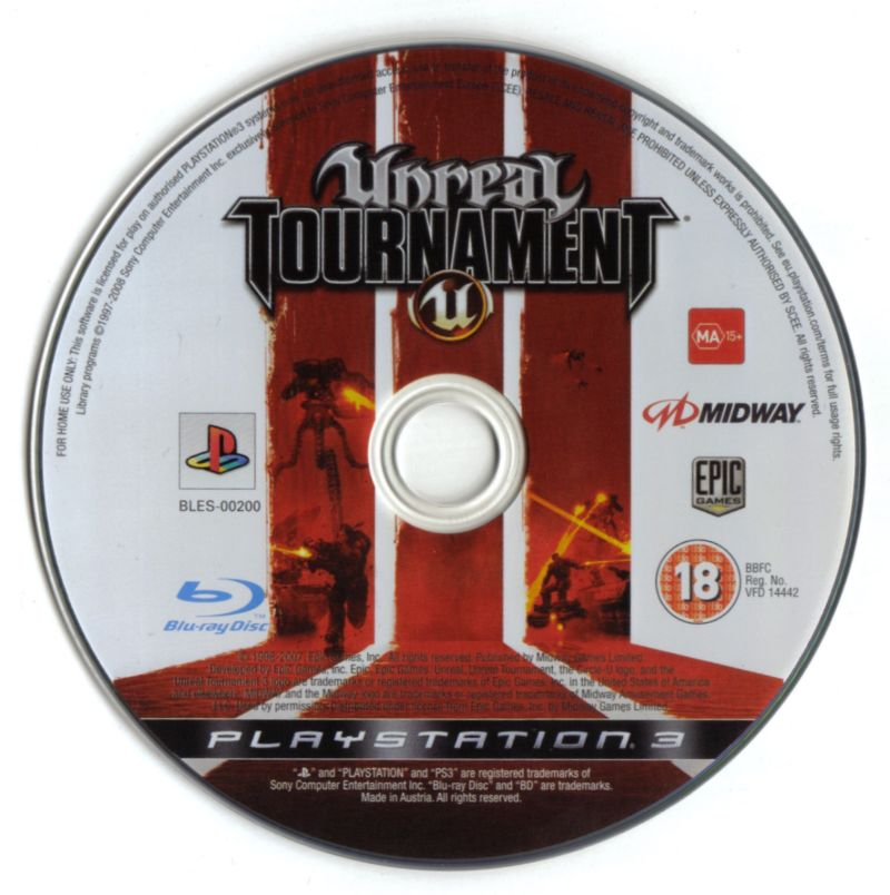 Unreal Tournament III PlayStation 3 Media