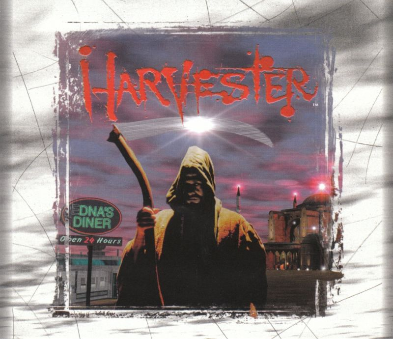 Harvester DOS Other Jewel Case - Front