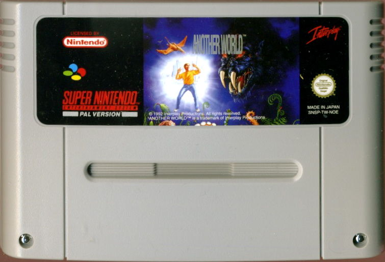 Out of This World SNES Media