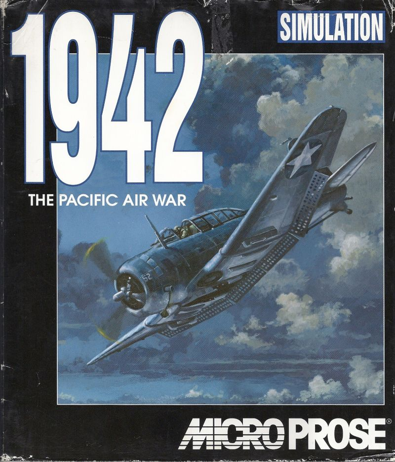 1942: The Pacific Air War DOS Front Cover