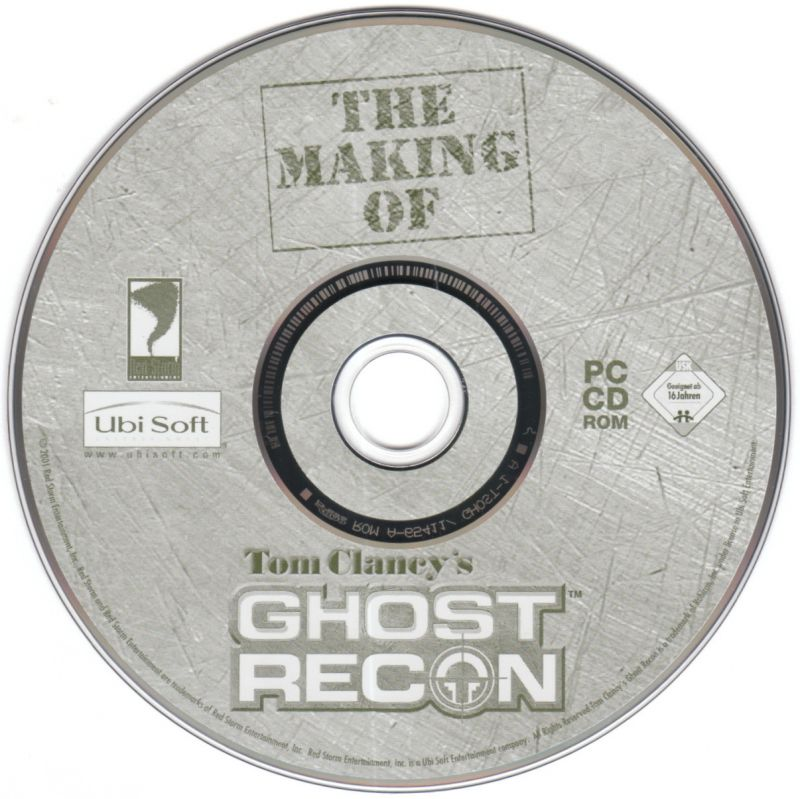 Tom Clancy's Ghost Recon (Collector's Pack) Windows Media The Making of Tom Clancy's Ghost Recon
