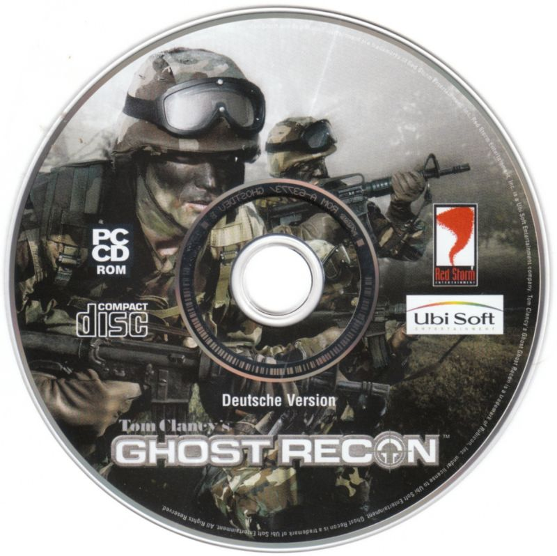Tom Clancy's Ghost Recon (Collector's Pack) Windows Media Tom Clancy's Ghost Recon