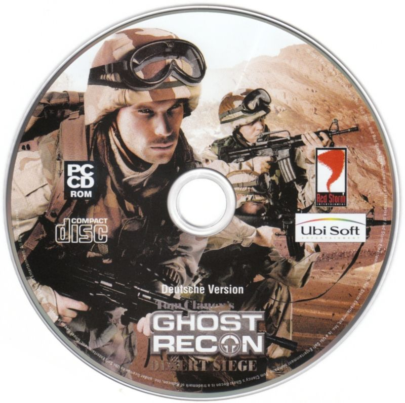 Tom Clancy's Ghost Recon (Collector's Pack) Windows Media Tom Clancy's Ghost Recon: Desert Siege
