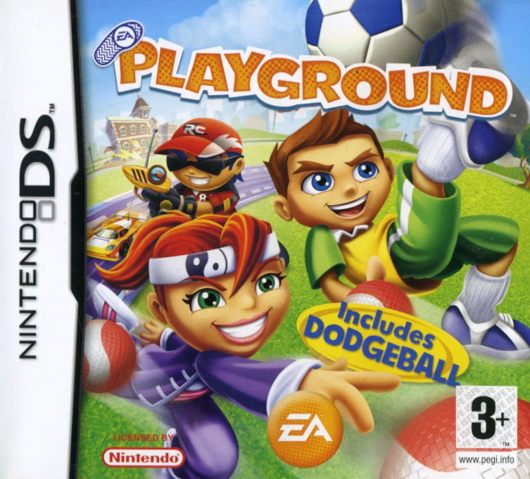 EA Playground Nintendo DS Front Cover