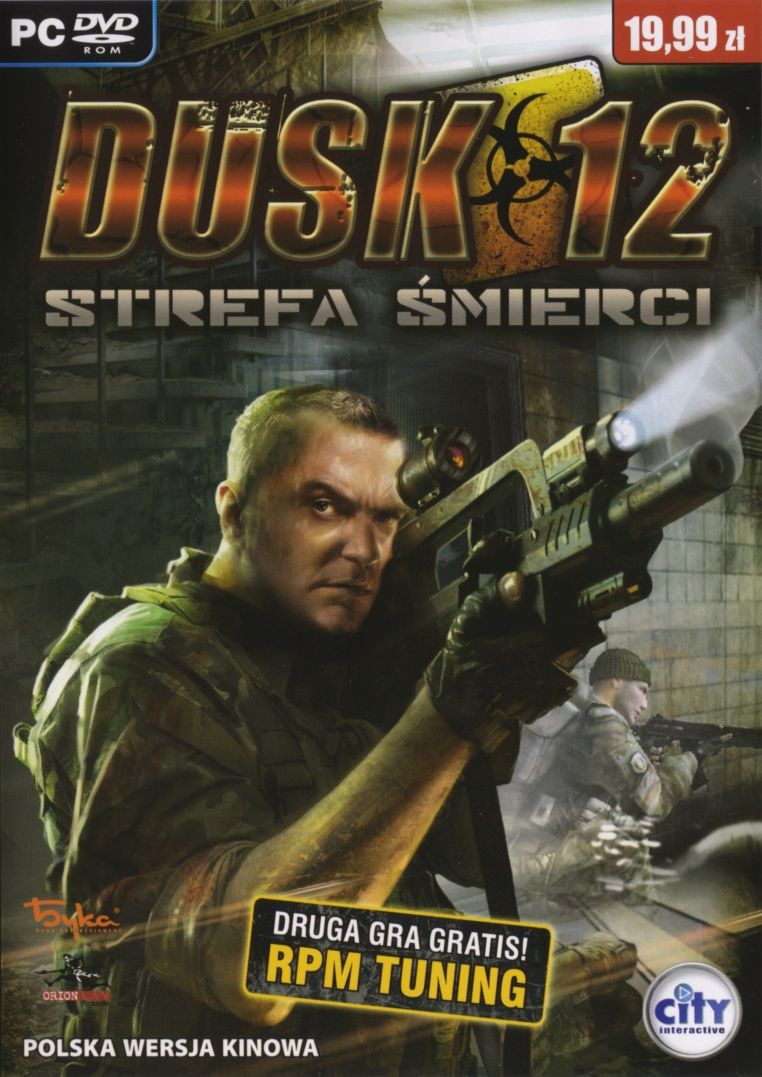 Dusk-12: Deadly Zone Windows Front Cover