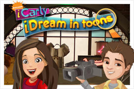 iCarly: iDream in Toons Windows Front Cover