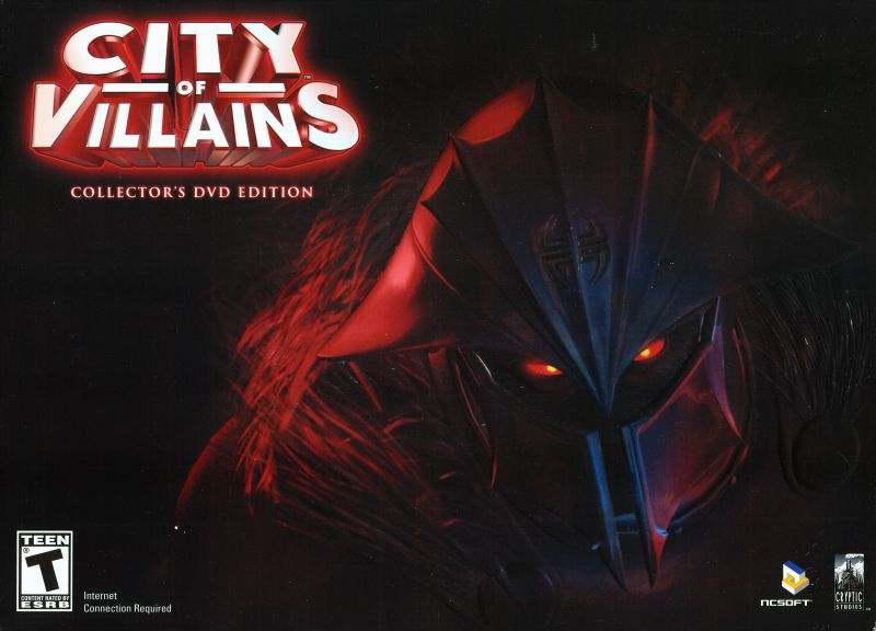 City of Villains (Collector's Edition) Windows Front Cover