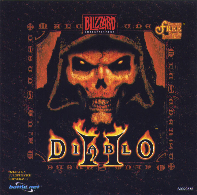 Diablo II (Collector's Edition) Windows Other Jewel Case 2 - Front