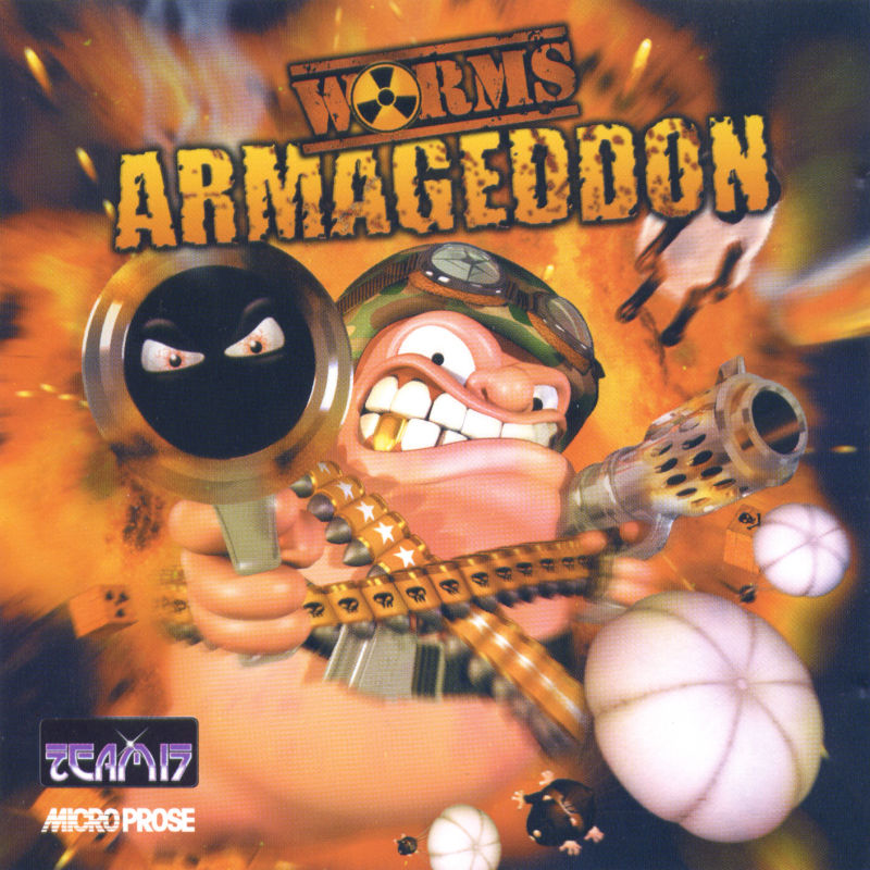 Worms Armageddon Windows Other Jewel Case - Front