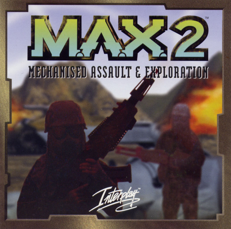 M.A.X. 2: Mechanized Assault & Exploration Windows Other Jewel Case - Front