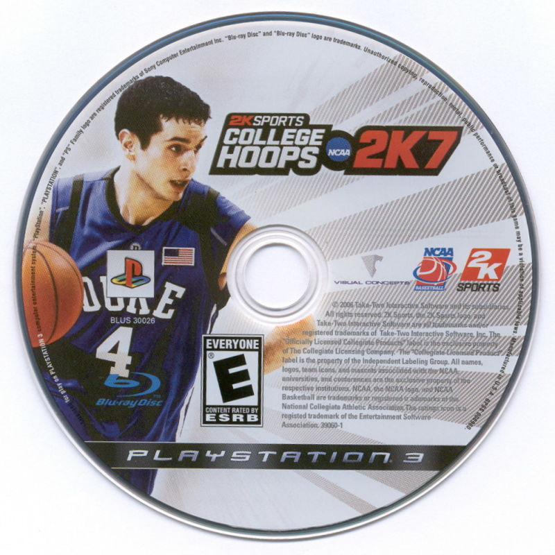 College Hoops NCAA 2K7 PlayStation 3 Media