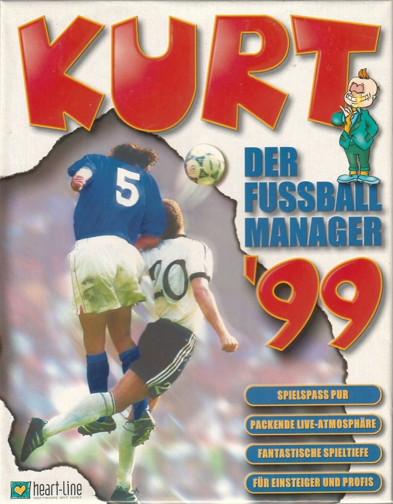 Kurt: Der Fußballmanager '99 Windows Front Cover