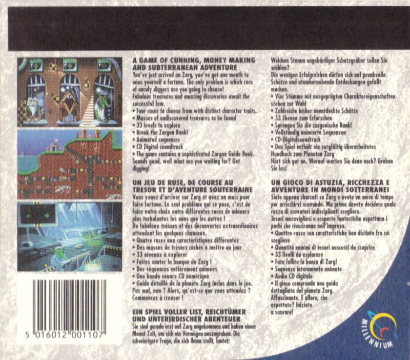 Diggers DOS Other DigiPak - Outside Centre