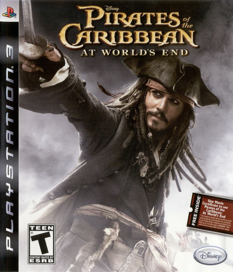 Disney Pirates of the Caribbean: At World's End PlayStation 3 Front Cover