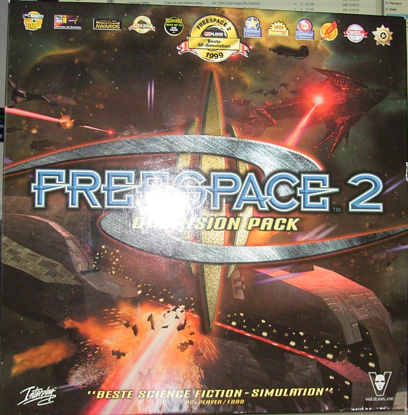 Freespace 2: Dimension Pack Windows Front Cover