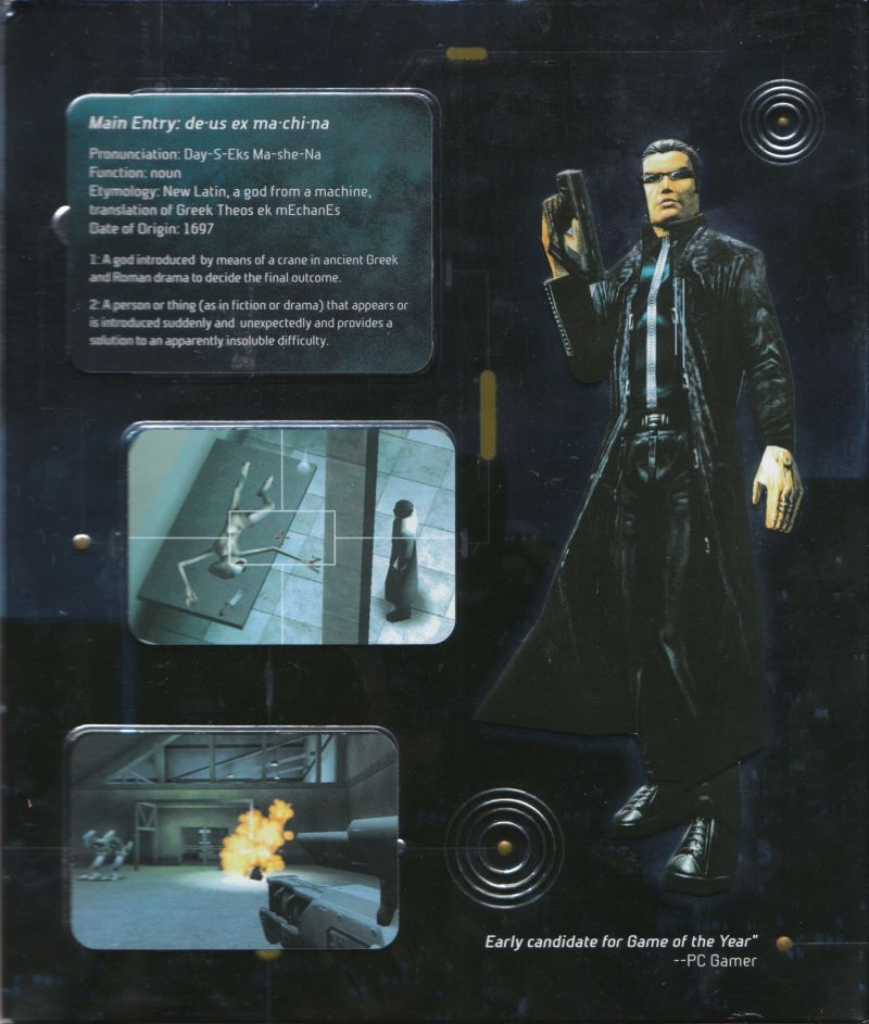 Deus Ex Windows Inside Cover Right Flap