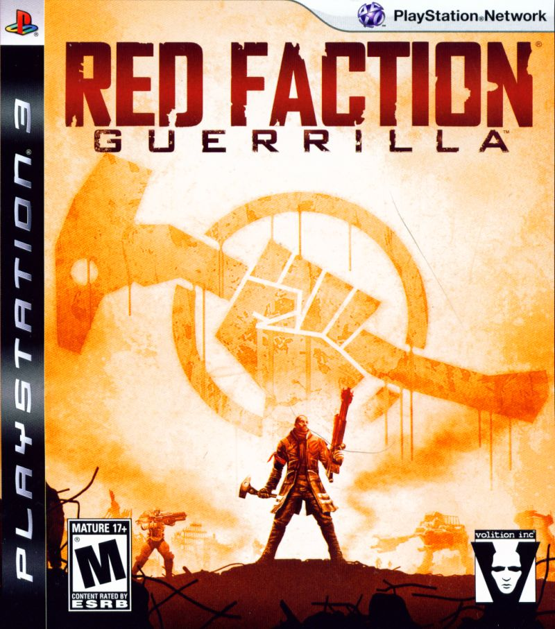 Red Faction: Guerrilla PlayStation 3 Front Cover