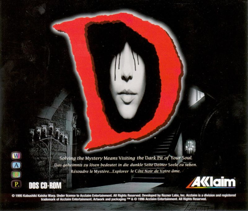 D DOS Other Jewel Case - Front