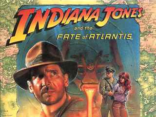 Indiana Jones and the Fate of Atlantis Windows Front Cover