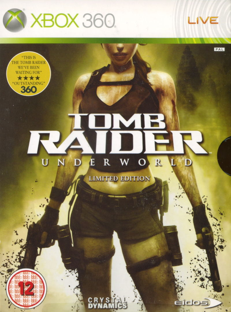 Tomb Raider: Underworld (Limited Edition) Xbox 360 Front Cover