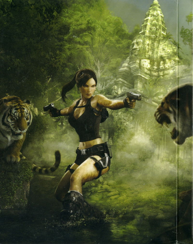 Tomb Raider: Underworld (Limited Edition) Xbox 360 Inside Cover Left