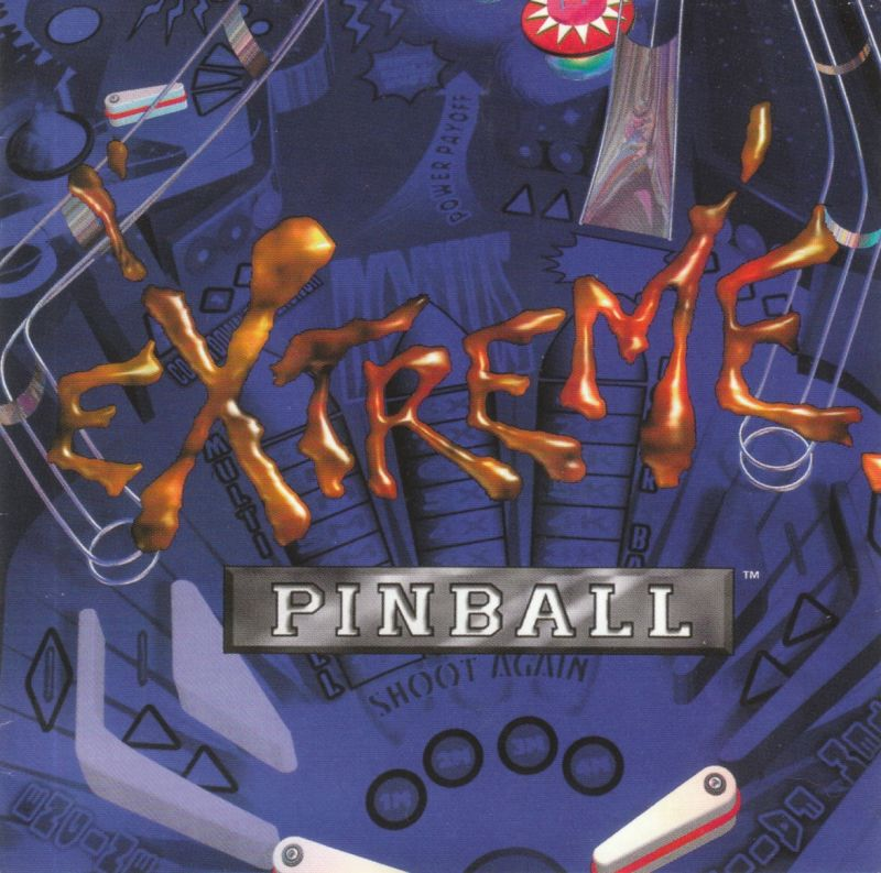 Extreme Pinball DOS Other Jewel Case - Front