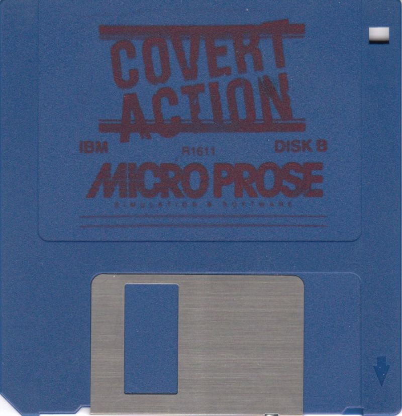 Sid Meier's Covert Action DOS Media Disk 2/2