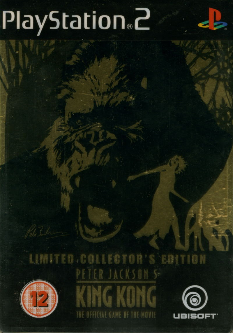 Peter Jackson's King Kong: The Official Game of the Movie (Signature Edition) PlayStation 2 Front Cover