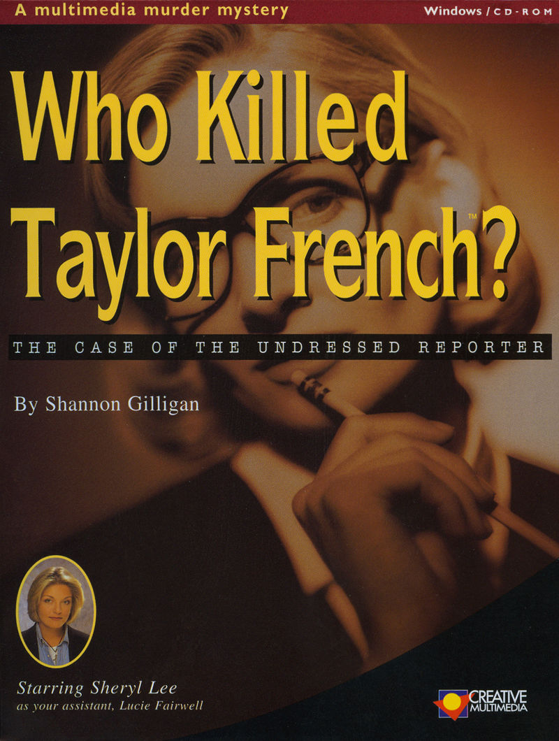 Who Killed Taylor French?: The Case of the Undressed Reporter Windows Front Cover
