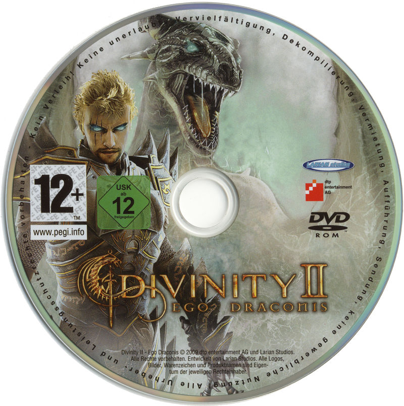 Divinity II: Ego Draconis (Collector's Edition) Windows Media Game Disc