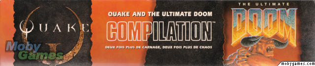 Quake and The Ultimate DOOM Compilation DOS Other Box - Top