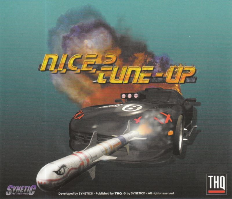 N.I.C.E. 2: Tune-Up Windows Other Jewel Case - Back