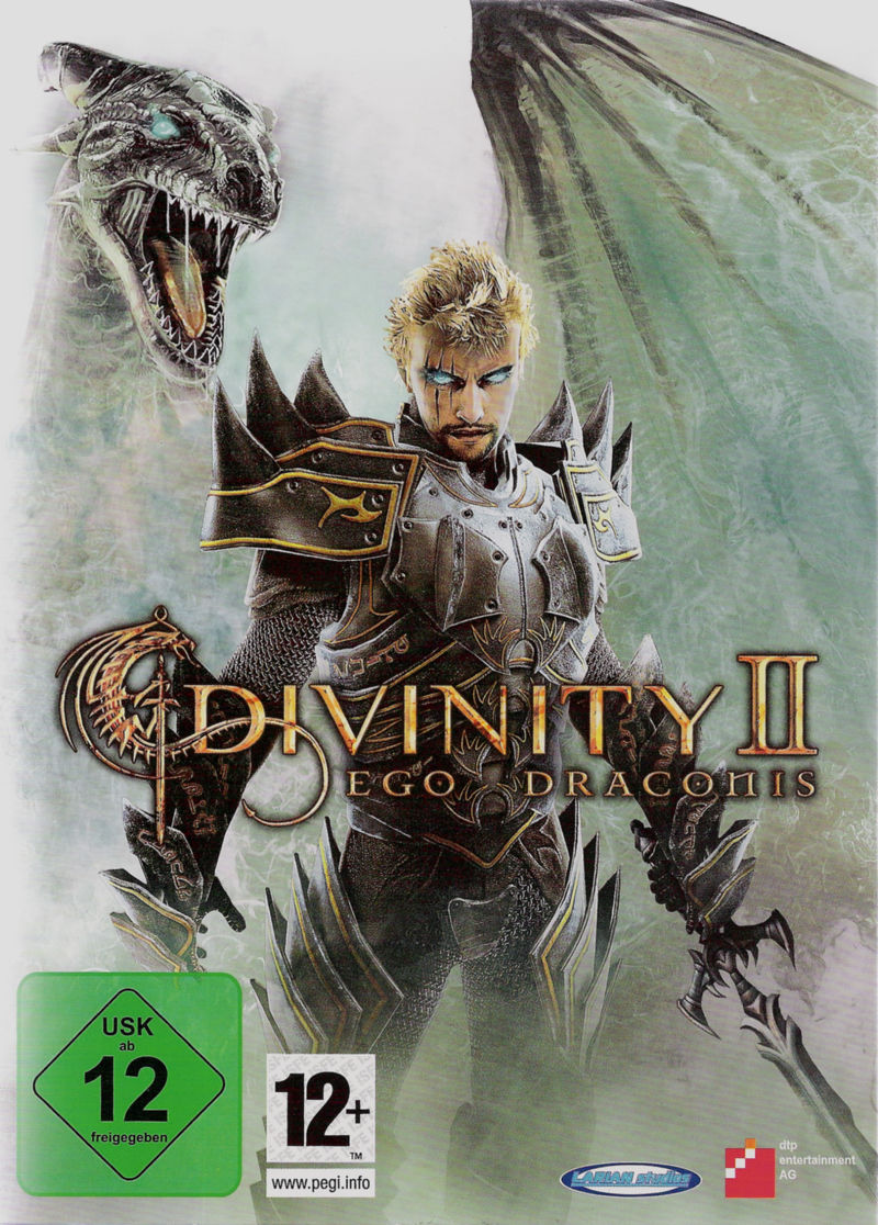Divinity II: Ego Draconis Windows Front Cover