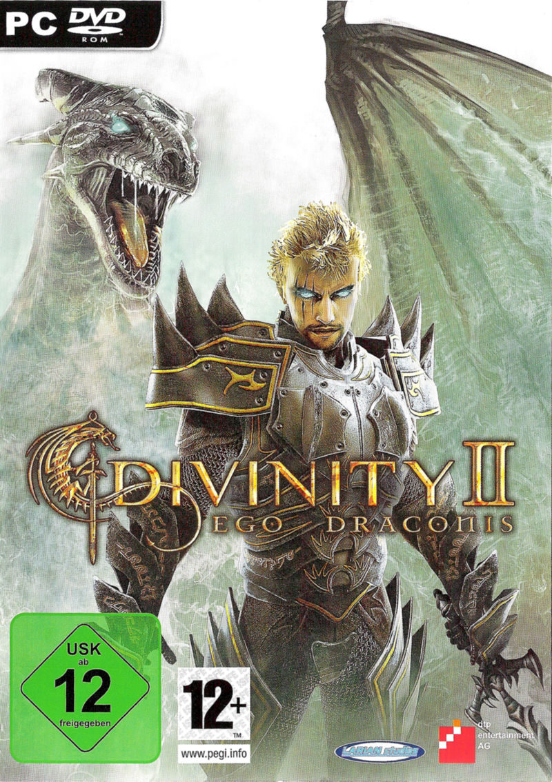 Divinity II: Ego Draconis Windows Other Keep Case - Front