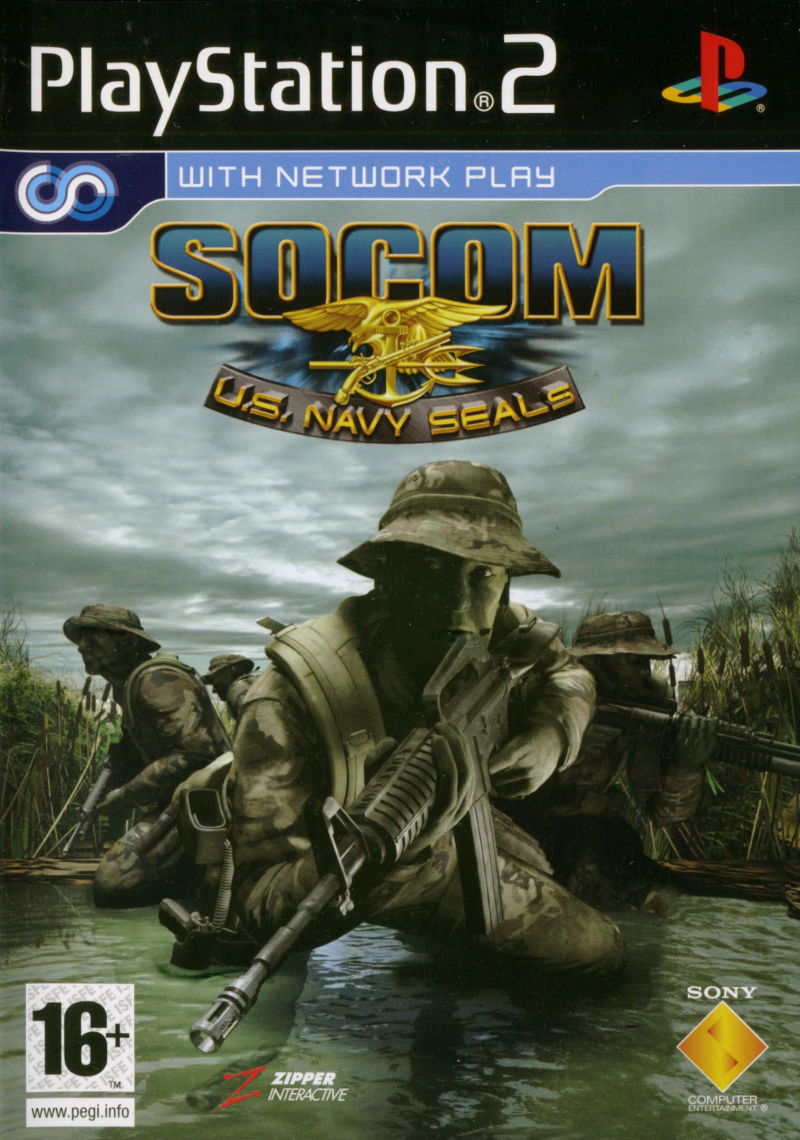SOCOM: U.S. Navy SEALs PlayStation 2 Other Keep Case - Front
