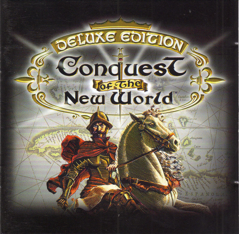 Conquest of the New World: Deluxe Edition DOS Other Jewel Case Front