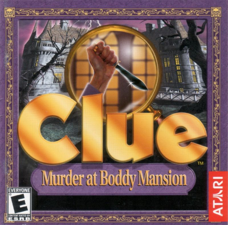 Clue: Murder at Boddy Mansion Windows Other Jewel Case - Front
