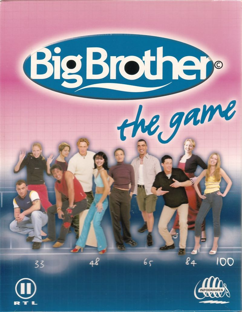 Big Brother: The Game Windows Front Cover